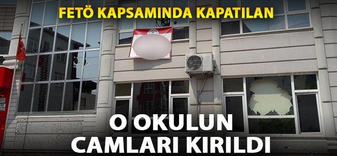 Samsun'da FETÖ Kapsamında Kapatılan Okulun Çamları Kırıldı