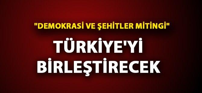 """İstanbul Yenikapı'da """"Demokrasi ve Şehitler Mitingi"""" İçin Hazrılıklar Sürüyor"""