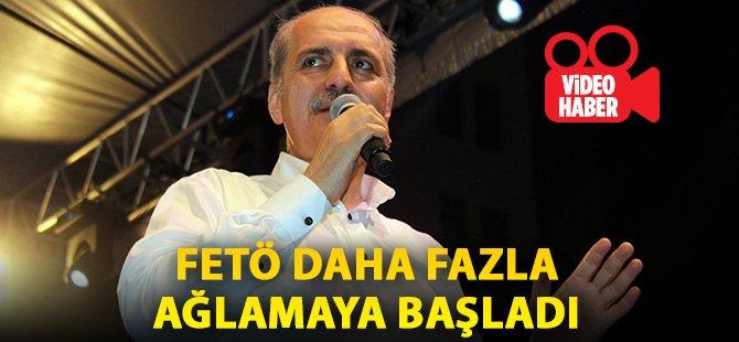 """Başbakan Yardımcısı Kurtulmuş Samsun'da Konuştu: """"FETÖ Daha Fazla Ağlamaya Başladı"""""""