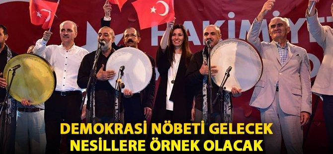 """Samsun Büyükşehir Belediye Başkanı Yılmaz; """"Demokrasi Nöbeti Gelecek Nesillere Örnek Olacak"""""""