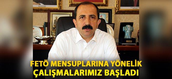 """AK Parti Samsun İl Başkanı Göksel; """"FETÖ Mensuplarına Yönelik Çalışmalarımız Başladı"""""""