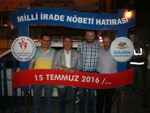 AK Parti Samsun Milletvekili Fuat Köktaş 'Demokrasi' Nöbetinde