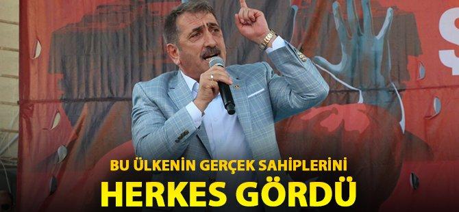 """AK Parti Samsun Milletvekili Köktaş; """"Allah Sizlerden Razı Olsun"""""""