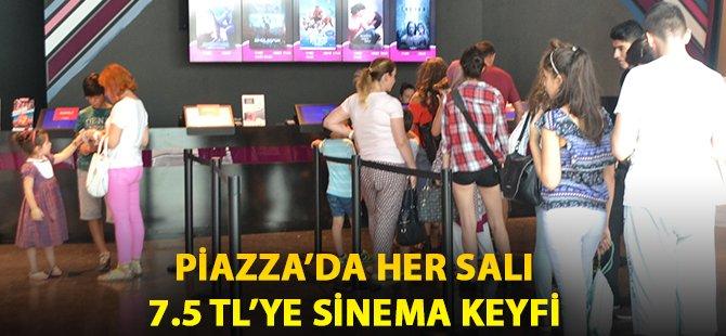 Samsun Piazza'da Her Salı 7.5 Tl'ye Sinema Keyfi