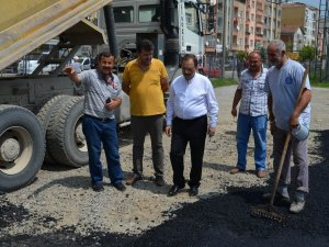Samsun Bafra'da Park Sorununa Çözüm İçin Otopark