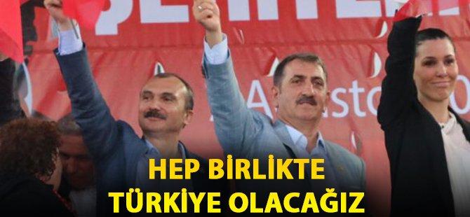 """AK Parti Samsun Milletvekili Köktaş; """"Hep Birlikte Türkiye Olacağız"""""""