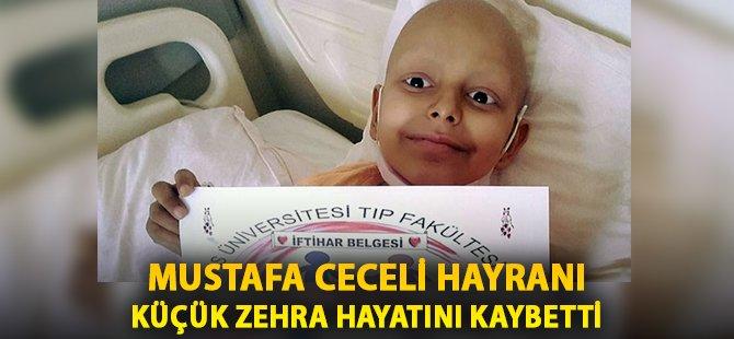 Samsun OMÜ'de Kanser Tedavisi Gören Mustafa Ceceli Hayranı Küçük Zehra Hayatını Kaybetti