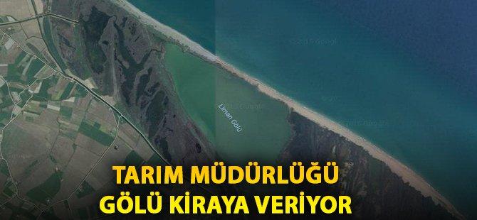 Samsun'un Bafra İlçe Liman Gölünün Su Ürünleri İstihsal Hakkı Pazarlık Usulü ile Kiraya Verilecek