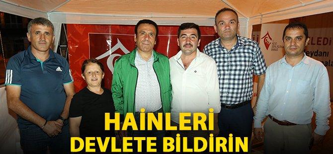 Samsun'un Canik İlçe Belediye Başkanı Genç; 'Hainleri Devlete Bildirin'