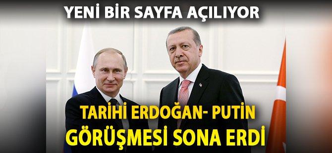 Tarihi Erdoğan - Putin Görüşmesi Başladı