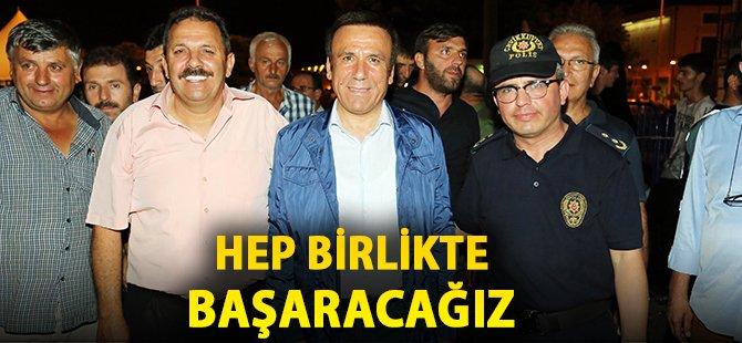 Samsun'un Canik İlçe Belediye Başkanı Genç; 'Hep Birlikte Başaracağız'