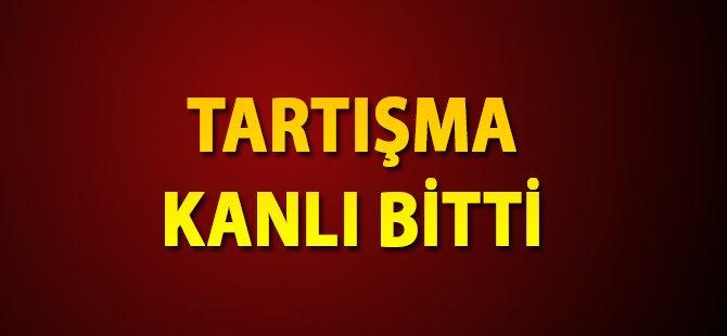Samsun'da Tartışma Kanlı Bitti