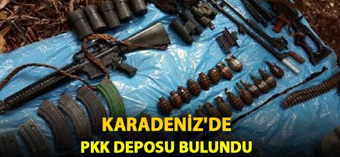 PKK'nın Karadeniz Deposu Bulundu