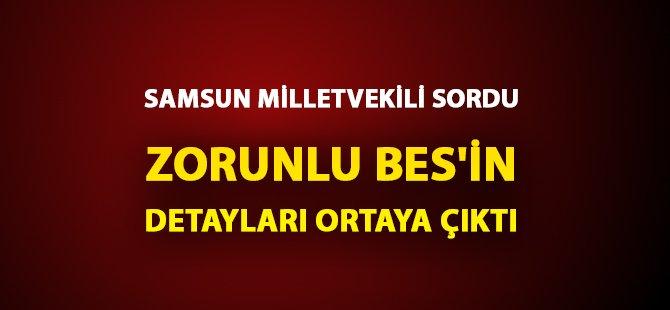 Samsun MHP Milletvekili Erhan Usta Sordu Hazine Müsteşar Yardımcısı BES'in Detaylarını Paylaştı