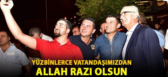 """Samsun Büyükşehir Belediye Başkanı Yılmaz; """"Yüzbinlerce Vatandaşımızdan Allah Razı Olsun"""""""