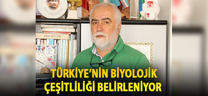 Samsun OMÜ'de Türkiye'nin Biyolojik Çeşitliliği Belirleniyor