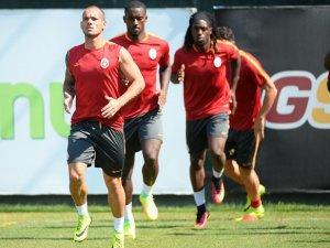 Galatasaray, Süper Kupa Maçı Hazırlıklarını Sürdürüyor