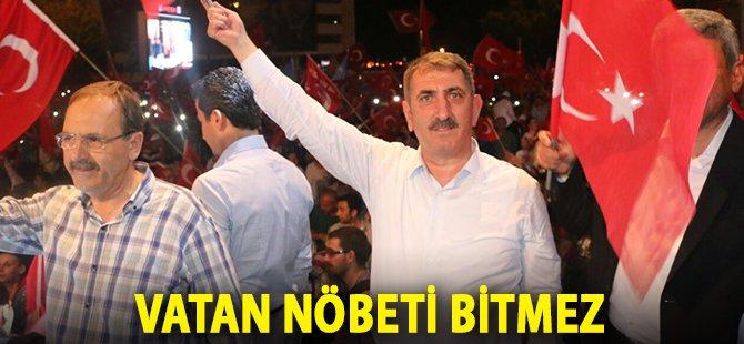 """AK Parti Samsun Milletvekili Köktaş; """" Vatan Nöbeti Bitmez"""""""