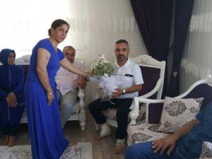 Samsun AK Parti Canik'ten 15 Temmuz Gazisine Ziyaret