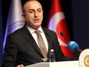 Dışişleri Bakanı Çavuşoğlu'ndan İsrail Açıklaması