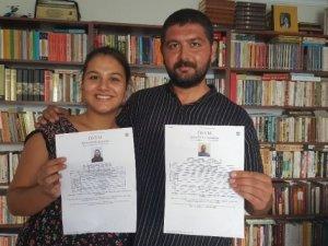 İzmir'de Babalı Kızlı Üniversiteyi Kazandılar