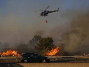 Fransa'da Orman Yangını Yüzlerce Kişiyi Yerinden Etti