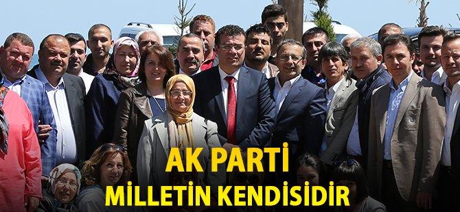 """Samsun'un Atakum İlçe Belediye Başkanı Taşçı; """"AK Parti Milletin Kendisidir"""""""