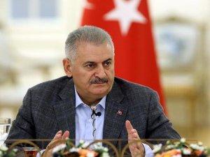 Başbakan Yıldırım, KKTC Cumhurbaşkanı Akıncı İle Bir Araya Geldi