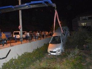 Tokat'ta Otomobil Yayalara Çarptı: 4 Yaralı