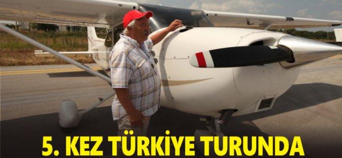 Lüksemburglu Pilot 5. Kez Türkiye Turunda