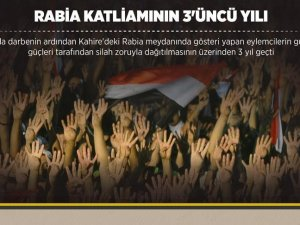 Rabia Katliamının 3'üncü Yılı