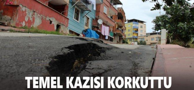 Samsun'da Temel Kazısı Korkuttu