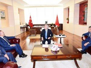 Bakan Çavuşoğlu İle Kılıçdaroğlu'nun Görüşmesi Sona Erdi