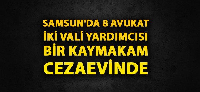 Samsun'da 8 Avukat Tutuklandı