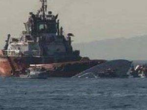 Sahil Güvenlik Botu Battı Askerler Mahsur Kaldı