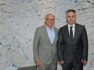Samsun'un Terme Belediye Başkanı Şenol Kul'dan DSİ Genel Müdürü Acu'ya Ziyaret