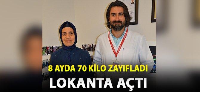 Samsun'da 50 Yaşındaki Kadın 8 Ayda 70 Kilo Zayıfladı