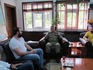 ASKON'DAN Samsun Garnizon Komutanına Ziyaret