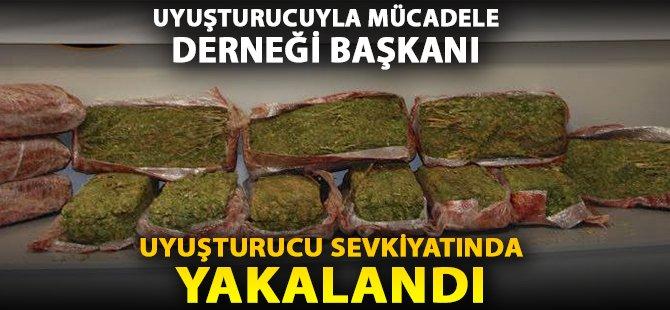 Samsun'da Saman Yüklü Kamyonda 70 Kilo Esrar Ele Geçirildi