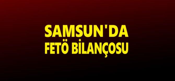 Samsun'da FETÖ Kapsamında 310 Kamu Personeli Tutuklandı