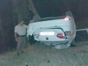 Samsun'da Trafik Kazası 1 Yaralı