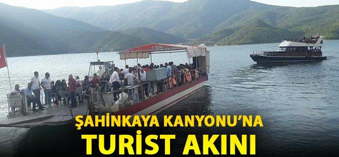 Samsun'da Şahinkaya Kanyonu'na Turist Akını
