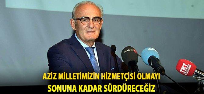 """Samsun Büyükşehir Belediye Başkanı Yılmaz; """"Aziz Milletimizin Hizmetçisi Olmayı Sonuna Kadar Sürdüreceğiz"""""""