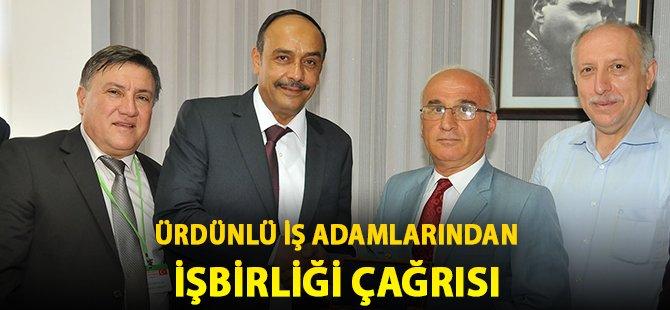 Samsun'da Ürdünlü İş Adamlarından İşbirliği Çağrısı