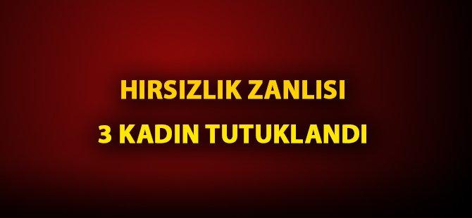 Samsun'da Evden Hırsızlık Yapan Kadınlar Tutuklandı