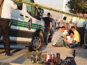 Çorum'da Kamyonla Çarpışan Motosiklet Sürücüsü Öldü