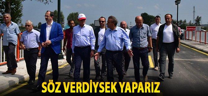 """Samsun Büyükşehir Belediye Başkanı Yılmaz; """"Söz Verdiysek Yaparız"""""""
