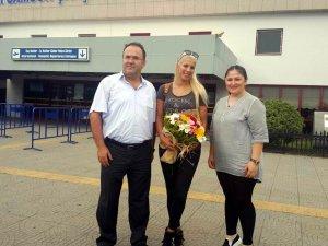 Canik Belediyespor'un Yeni Transferi Samsun'da