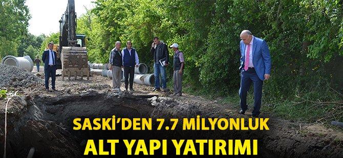 Samsun'da SASKİ'den 4 İlçeye 7.7 Milyonluk Alt Yapı Yatırımı