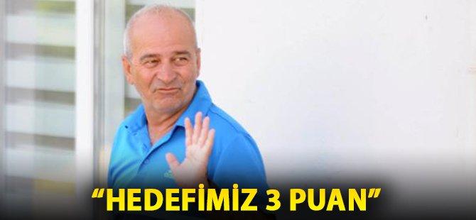 """Samsunspor Teknik Direktörü Korukır; """"Hedefimiz Tabi Ki 3 Puan"""""""